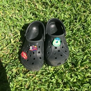 Black gently used Crocs - smoke free home